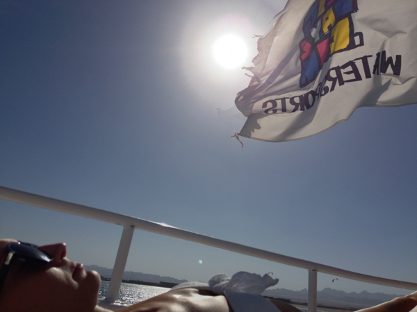 Relaxing-Time on the boat. ©Coco's Philosophy