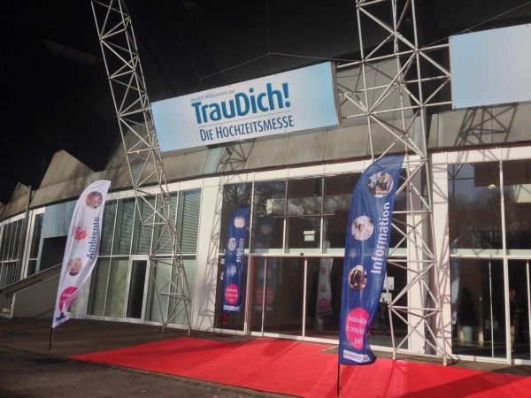 TrauDich!-Messe in München im Olympiapark