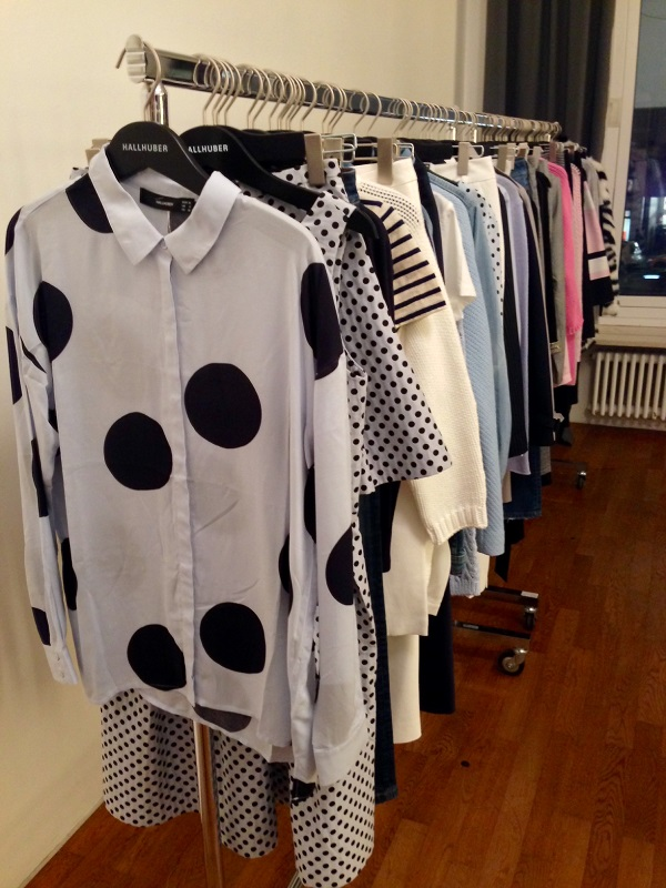 Most Wanted: Polka Dots Bluse von Hallhuber. ©Coco's Philosophy