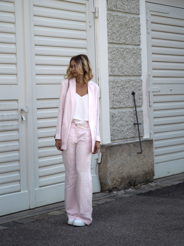 Street style Allover-Look Rose Quartz