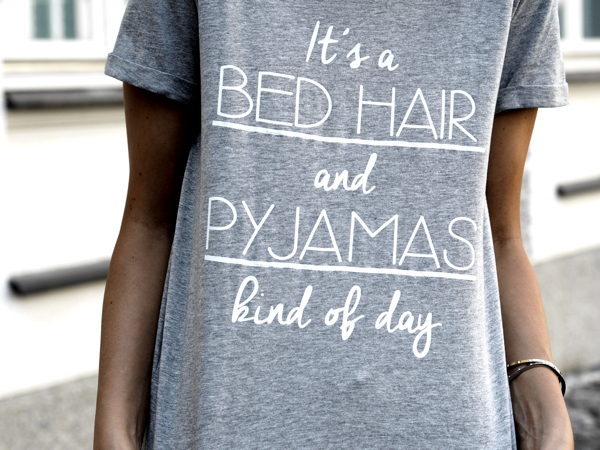 Street style Bed Hair Day