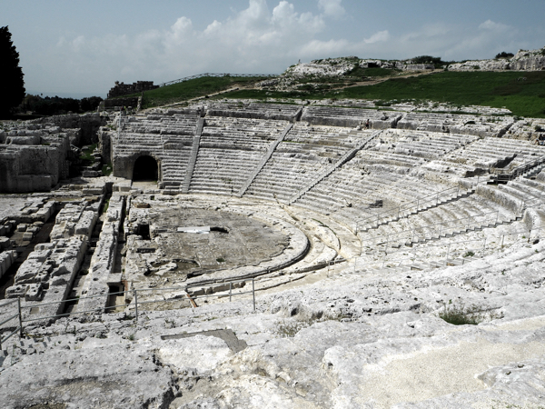 Sizilien Syrakus Antikes Theater